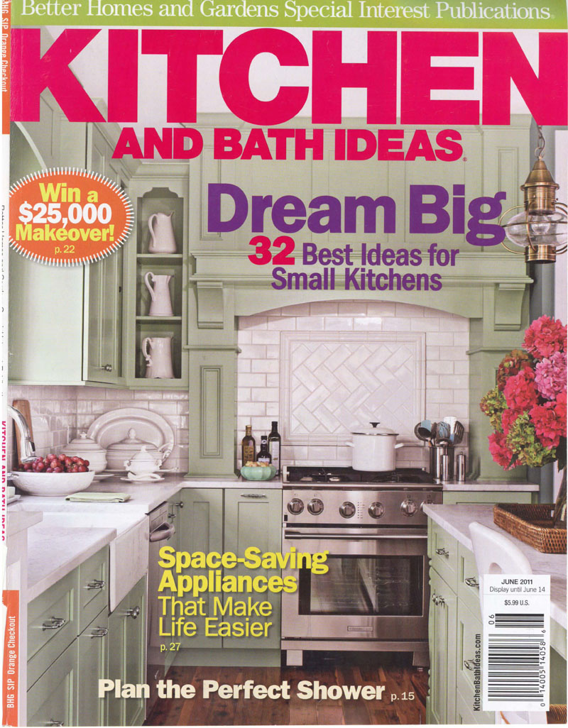 Feature in June 2011 Kitchen&Bath Ideas Magazine - Jeff King and ...