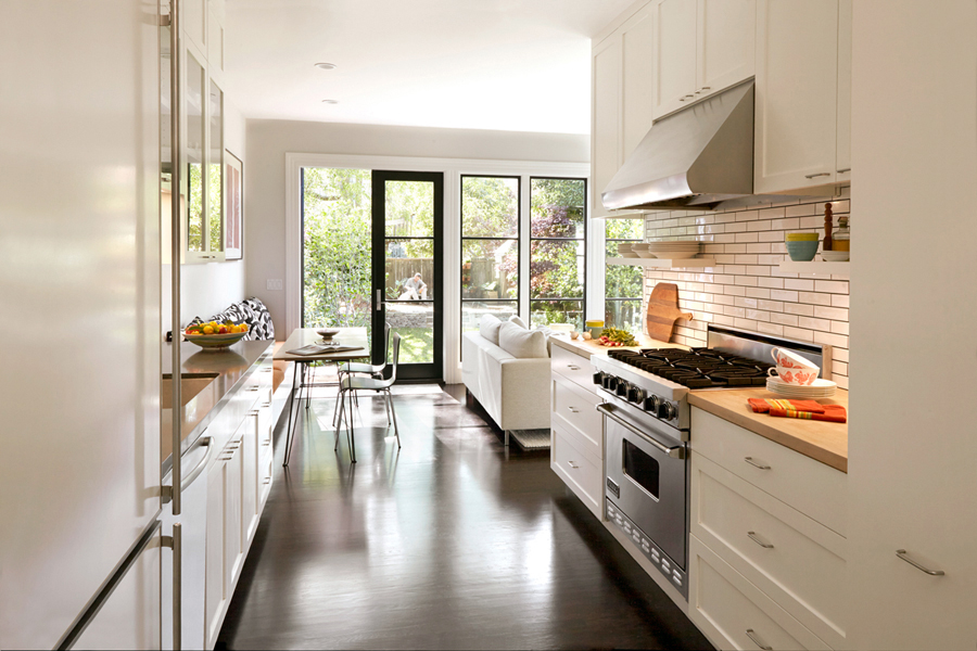 White Kitchen Oak our favorite san francisco kitchen remodels