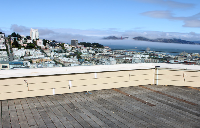 San Francisco roof deck