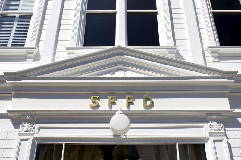 SFFD historic facade