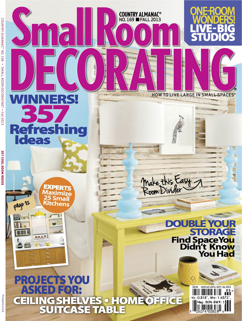 Awesome small room decorating magazine gallery interior for Create and decorate magazine free
