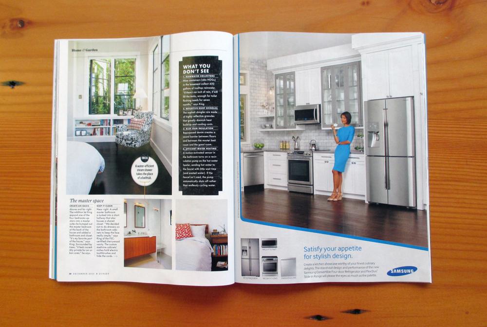 Sunset Magazine Dec 2013