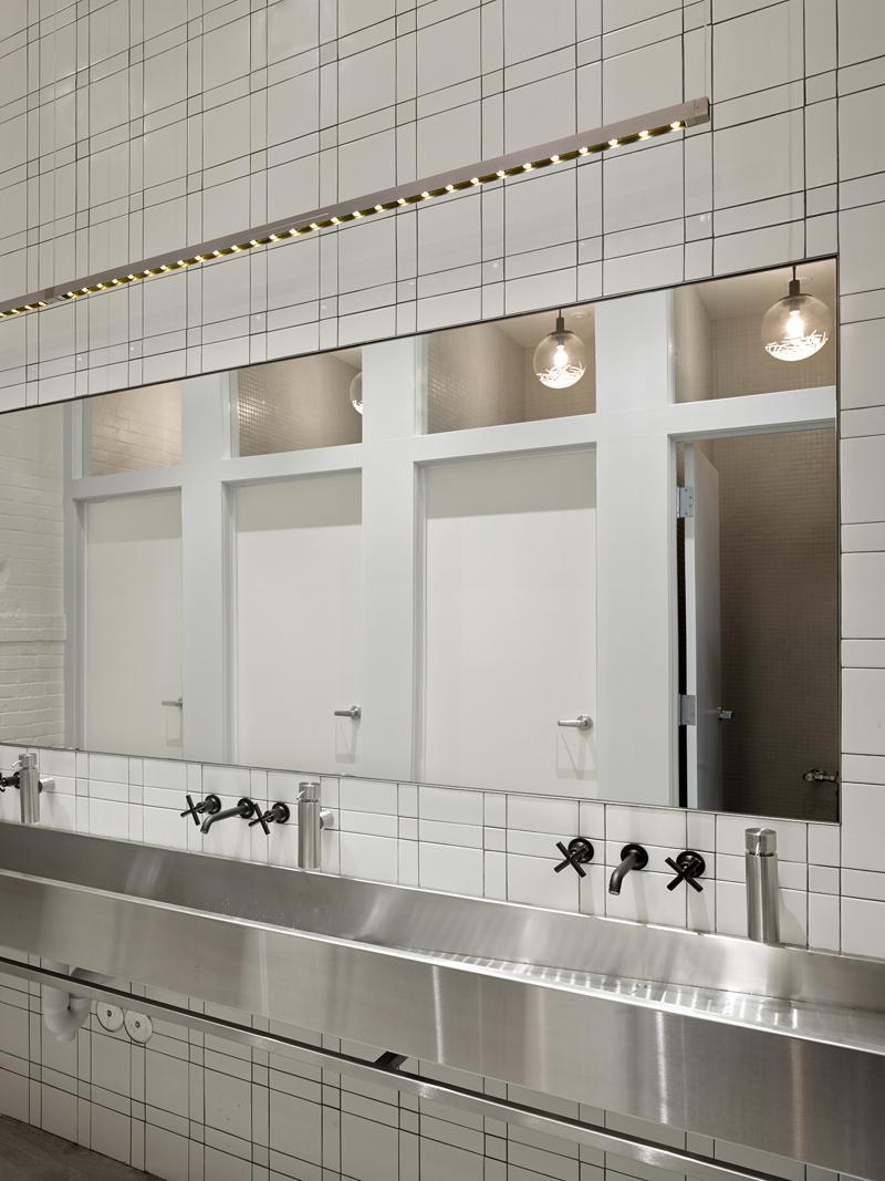 Communal bathroom remodel