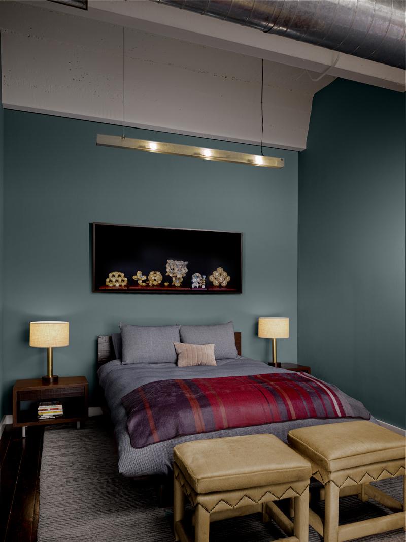 Modern bedroom remodel