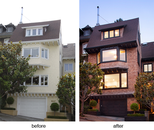 Edwardian remodel before after