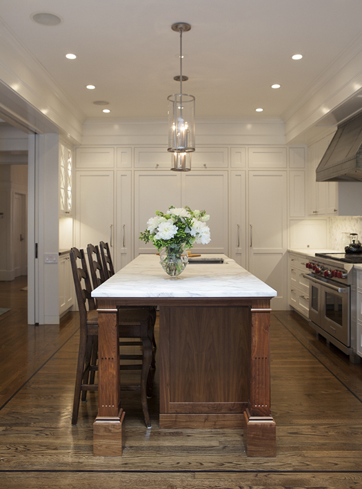 Traditional White Kitchen Remodel