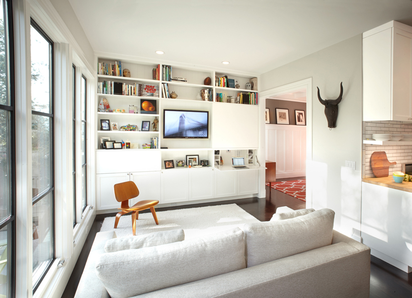 Our Floor To Ceiling Storage Entertainment Unit On Houzz