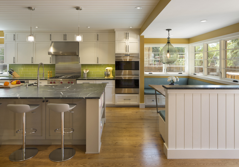 General contractors bay area colorful home remodel for Kitchen remodel bay area