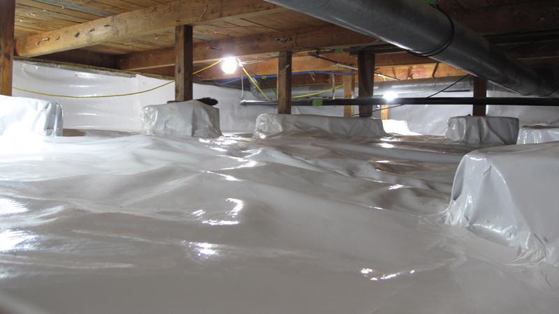 Indoor Air Quality Crawl Space