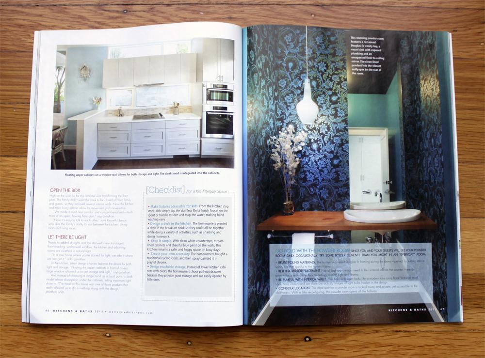 Fair Oaks Featured in Kitchens & Baths Summer 2013 Magazine ...