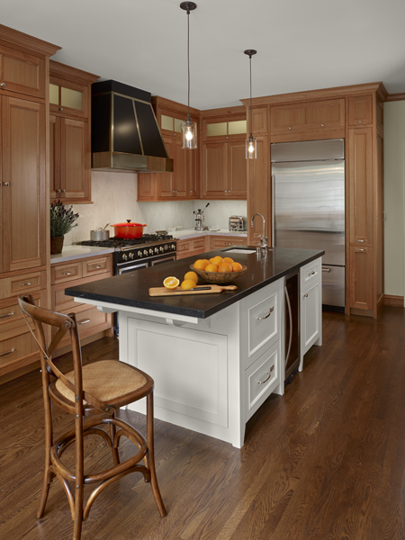 Anigre Kitchen Cabinets