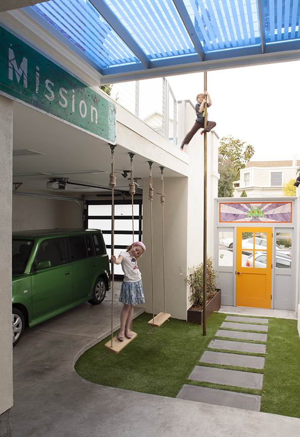 Carport with Play Area