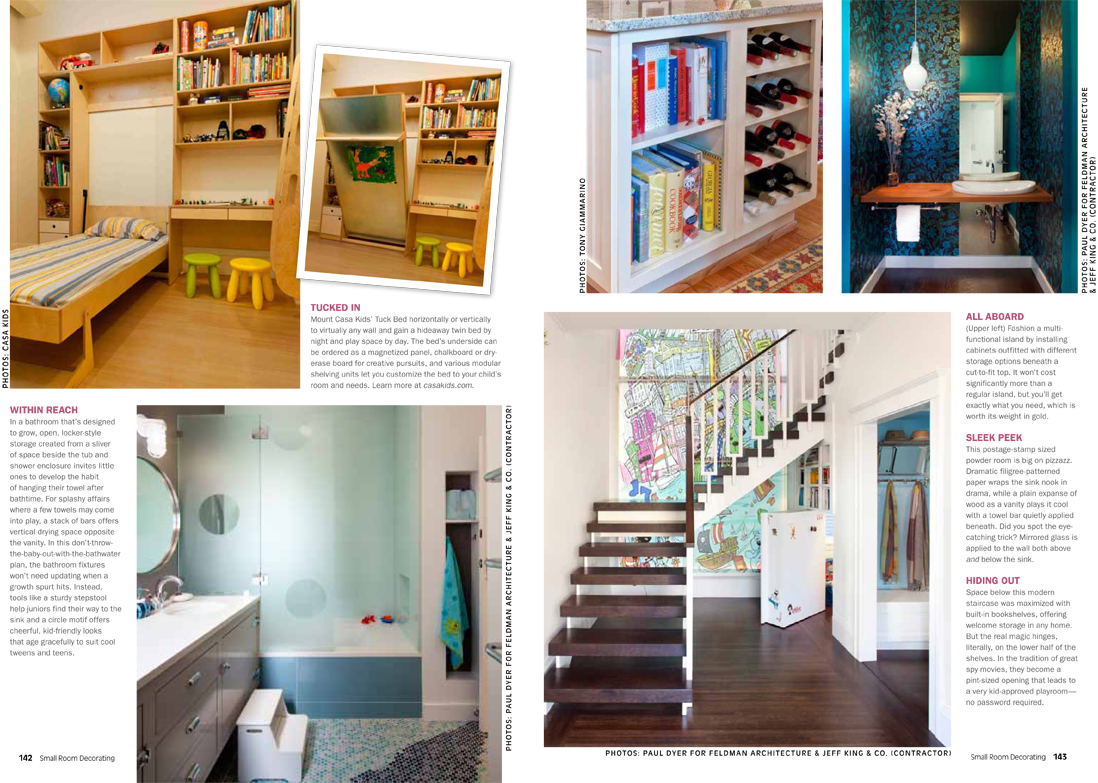 New Feature in Small Room Decorating Magazine - Jeff King and ...