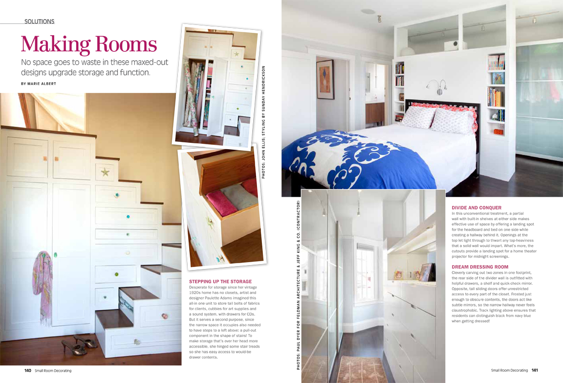 New Feature in Small Room Decorating Magazine - Jeff King ...