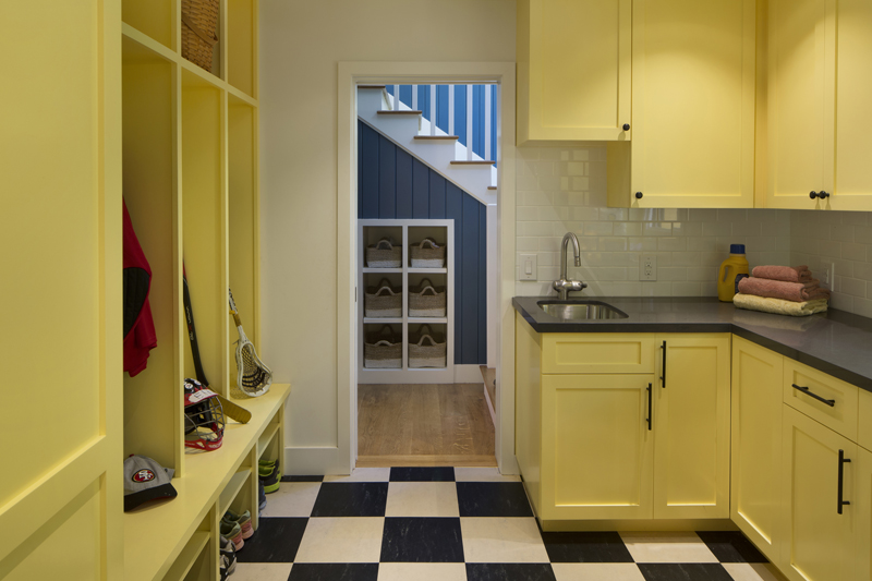10 Yellow Cabinetry Mudroom2