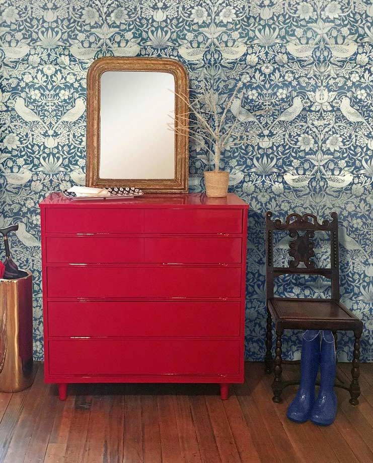Vintage Furniture Wallpaper