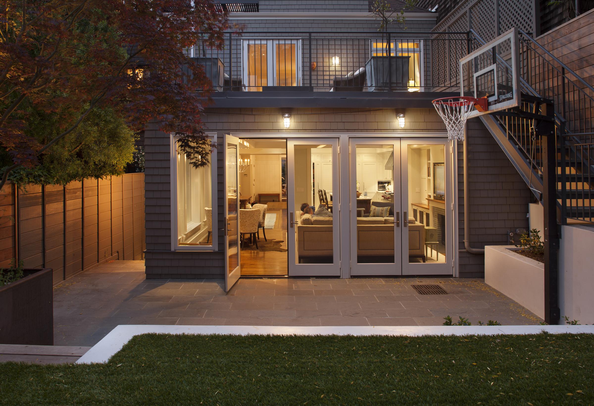 Basketball Hoop and Astroturf lawn