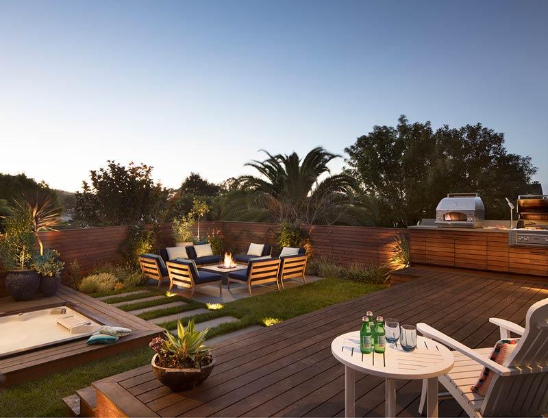 San Francisco Backyard Remodel & San Francisco Backyard Remodel u0026 Roof Deck Renovation